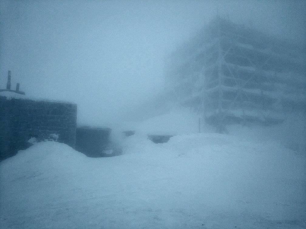 Через сніг і густий туман видимості майже нема / Фото facebook.com/chornogora.rescue112
