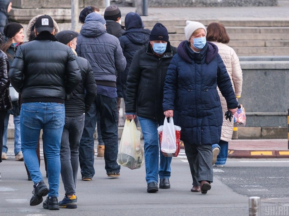 В Украине коронавирусом уже заболели более 1,6 млн человек / фото УНИАН