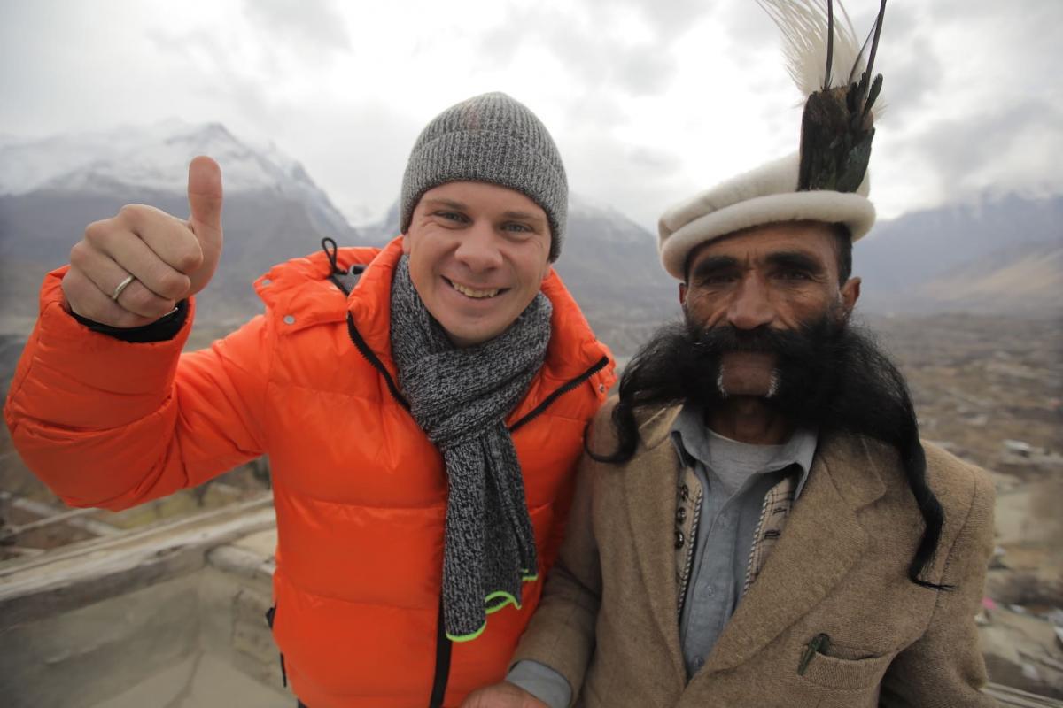Дмитрий Комаров искал сильнейших шаманов Пакистана / фото пресс-службы «1+1»