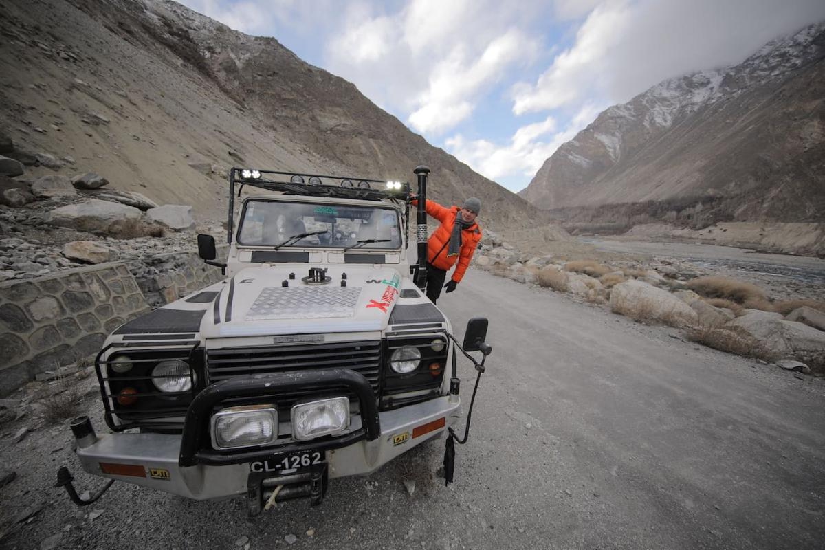 Горная часть экспедиции по Пакистану удивила Дмитрия Комарова / фото пресс-службы«1+1»