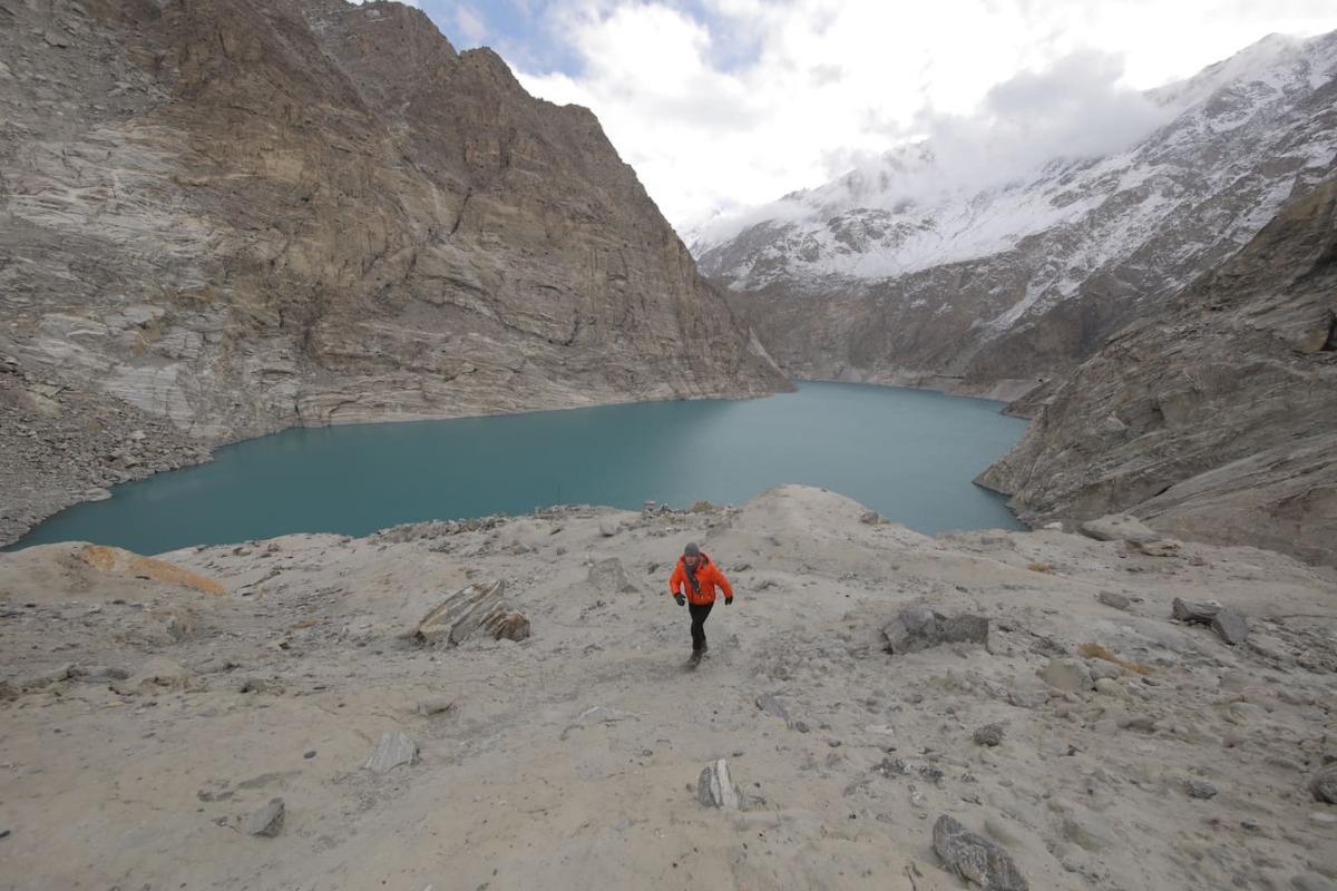 Дмитрий Комаров отправился в горный Пакистан / фото пресс-службы «1+1»