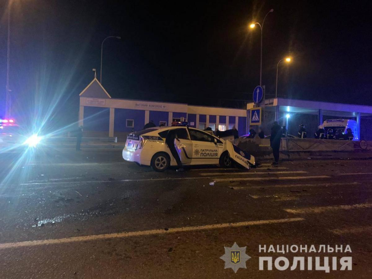 Смертельное ДТП в Одесской области / фото: Национальная полиция