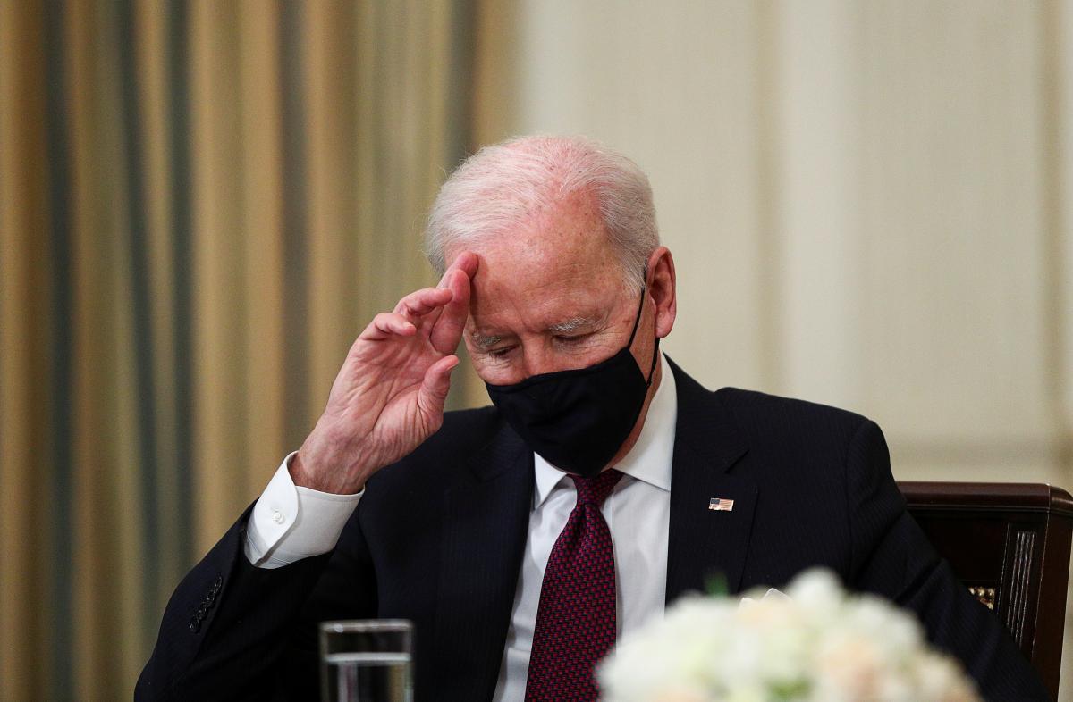 Джо Байден / фото REUTERS