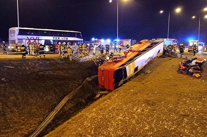 Five people killed in Ukrainian bus crash in Poland / Photo from eska.pl