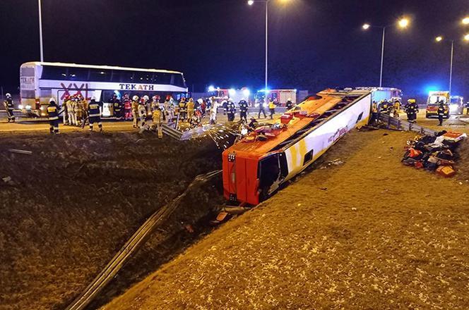 ДТП в Польше - 6 украинцев погибли в масштабной аварии возле Кашице / eska.pl