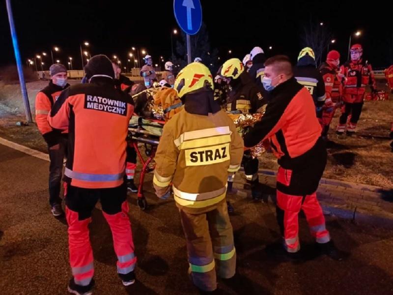ДТП в Польше - Зеленский выразил соболезнования семьям погибших / rmf24.pl