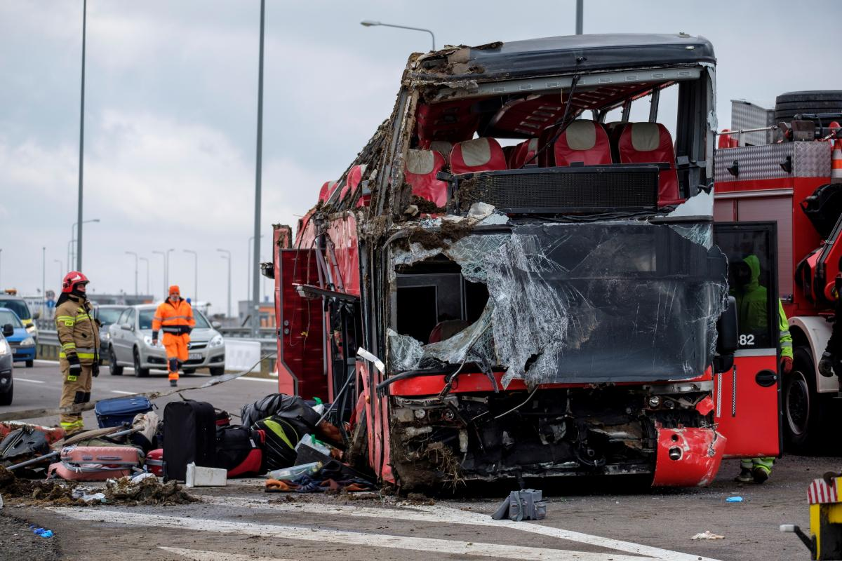 В аварии погибли 5 человек, 35 были госпитализированы / фото REUTERS