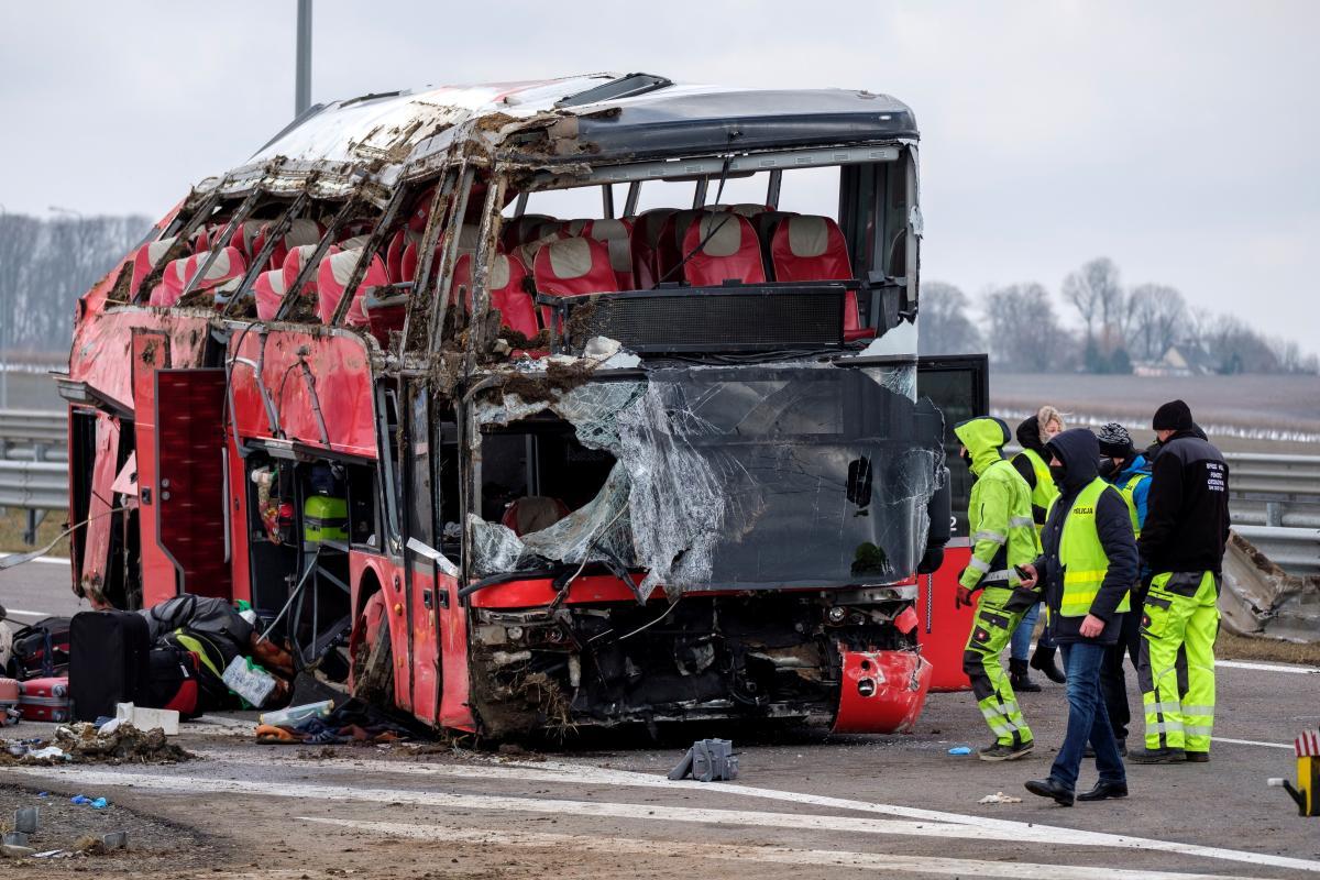 ДТП в Польше - информация о шестом погибшем пока не подтверждается / REUTERS