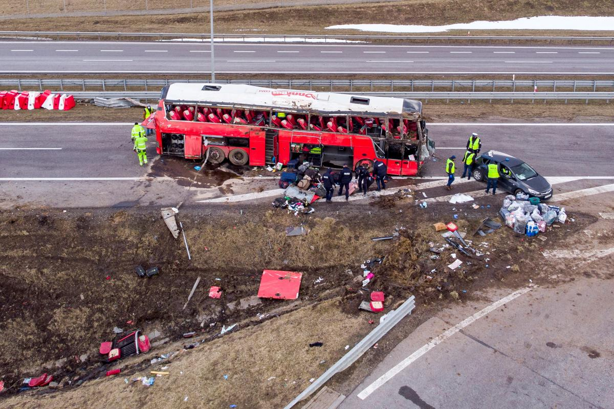 В Польше в ДТП пострадали и погибли украинцы / REUTERS