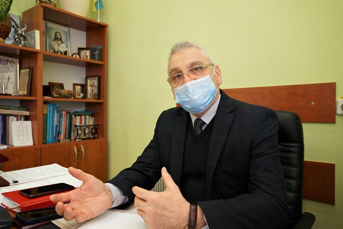 Михайло Поляк вважає, що пік захворюваності на Закарпатті ще не настав / фото УНІАН