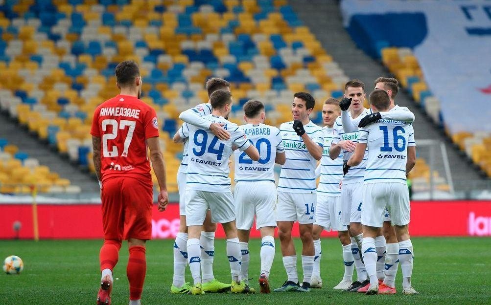 Динамо взяло три очки / фото Динамо Київ