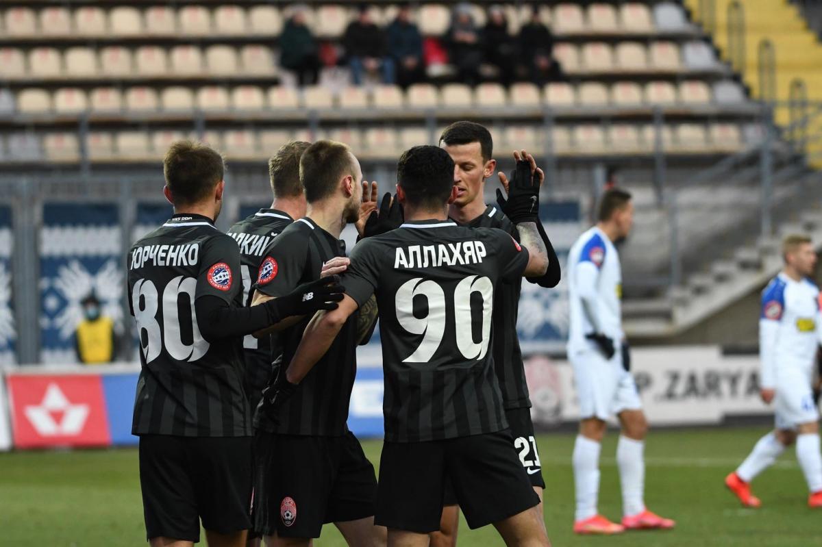 Зоря продовжила переможну серію в чемпіонаті / фото ФК Зоря