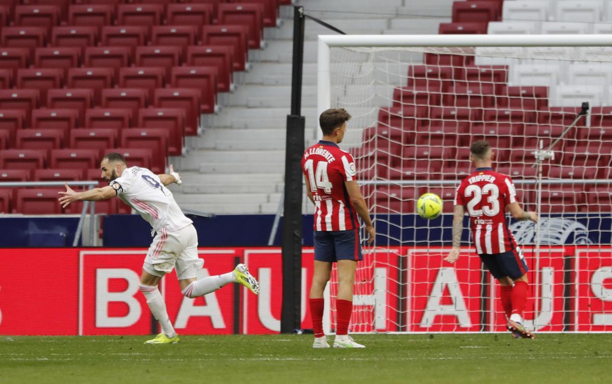 Атлетико - Реал / фото REUTERS