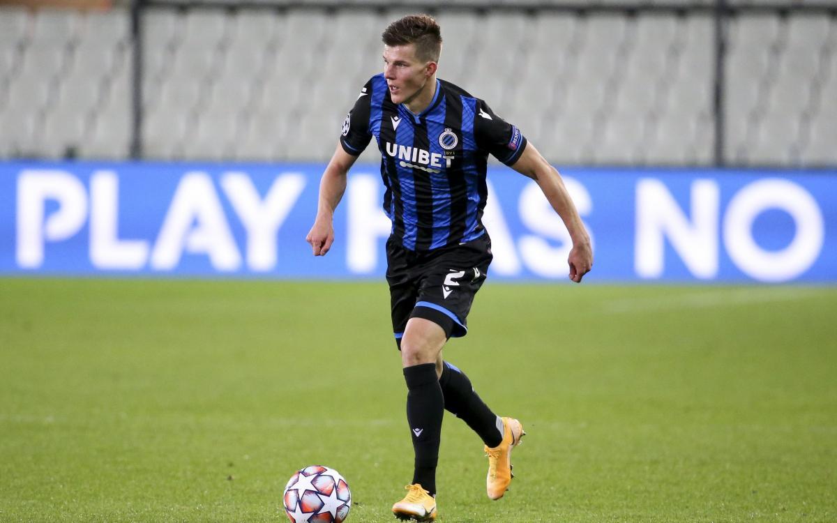 Едуард Соболь раніше не забивав за Брюгге в офіційних матчах / фото twitter.com/clubbrugge