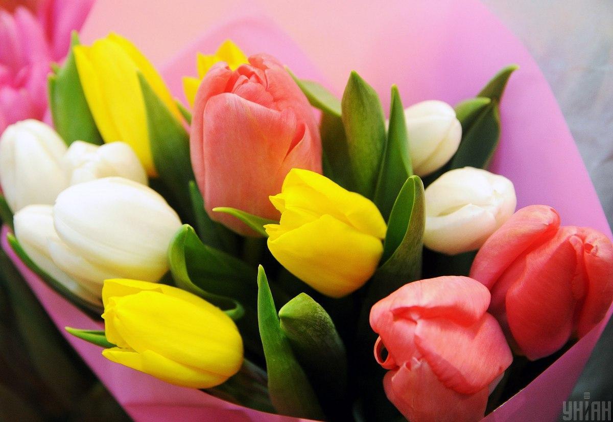 Зеленский поздравил женщин с 8 марта / фото УНИАН Алексей Иванов