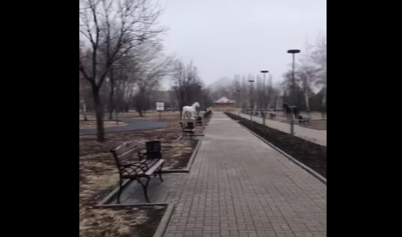 Донецк в оккупации / скриншот