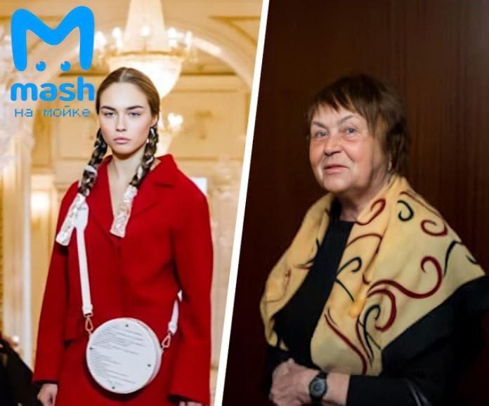 25-летняя Ирина -частый гость модных показов и звезда подиумов/ фото Mash на мойке