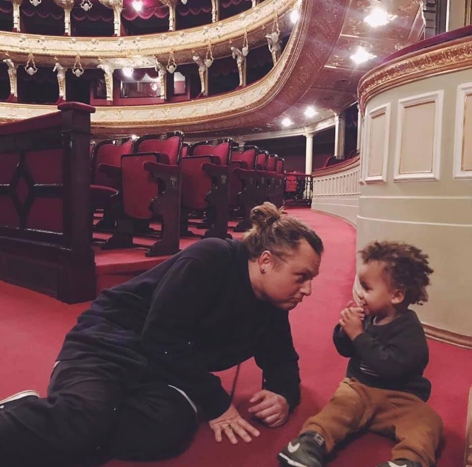 Евгений Лавренчук в Одесском национальном театре оперы и балета/ фото facebook Eugene Lavrenchuk