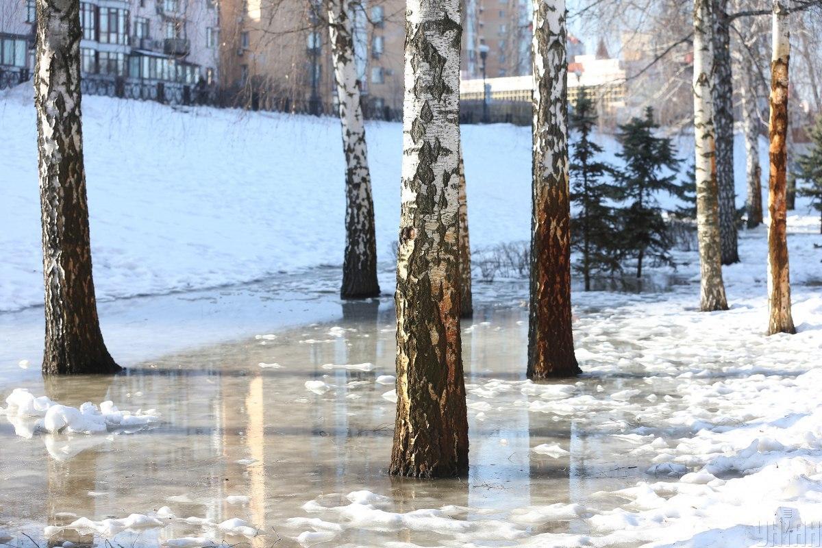 С потеплением следует ожидать таяния сугробов / фото УНИАН, Виктор Ковальчук