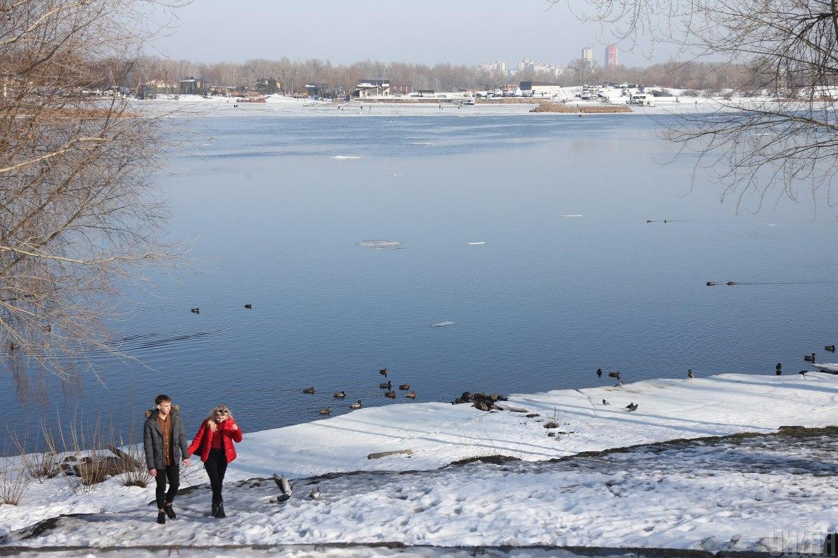 Максимальныеснегозапасы сформировались в бассейнах некоторых рек / фото УНИАН, Виктор Ковальчук