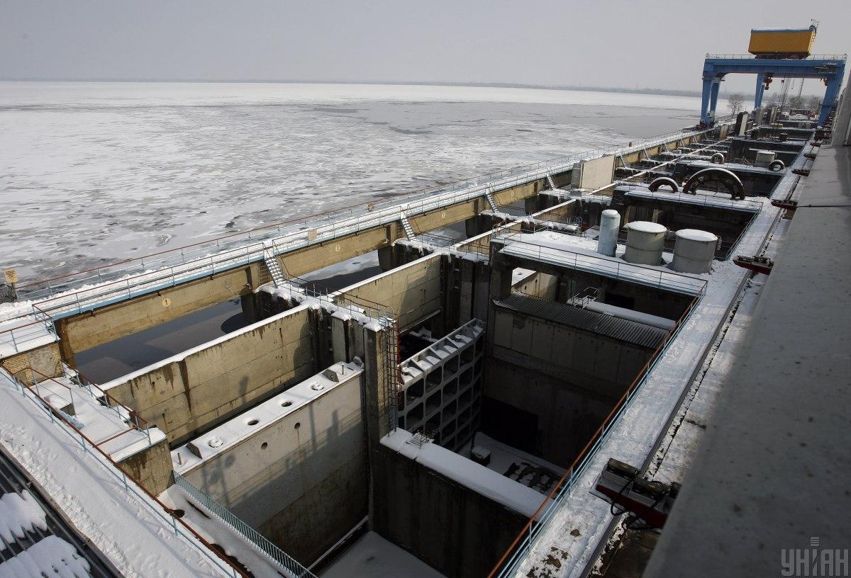 Подтопить прибрежные зоны возле Киева грозится Днепр / фото УНИАН, Андрей Скакодуб