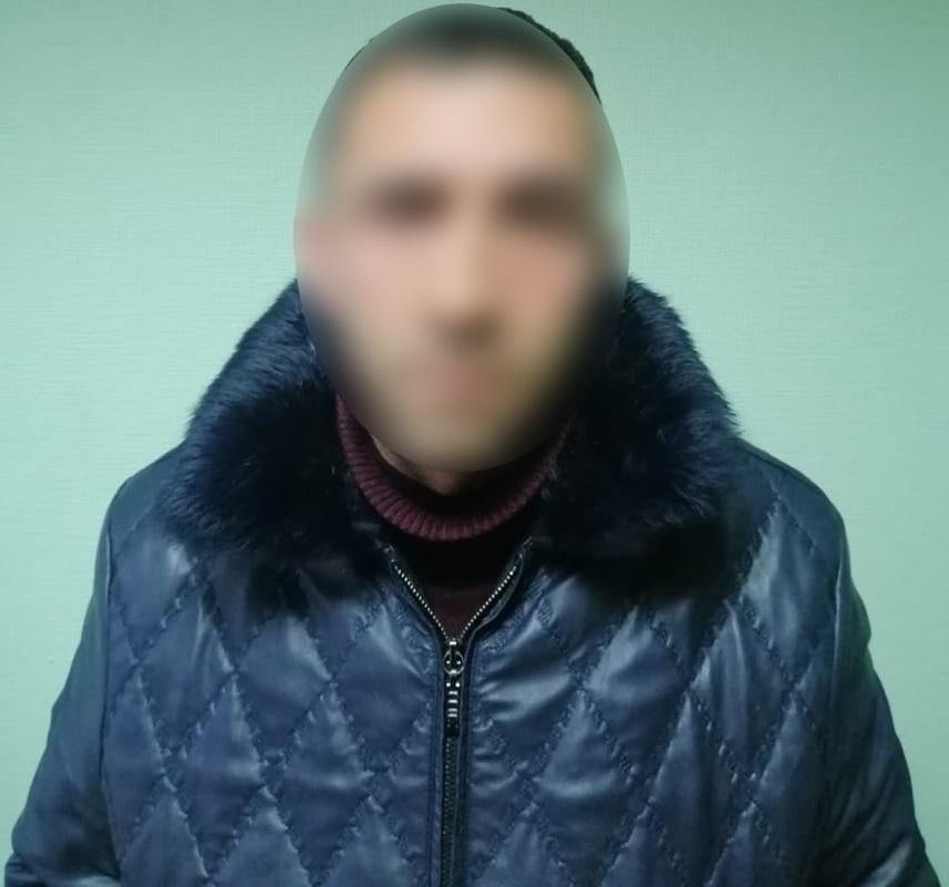 Затримано громадянина Азербайджану, який зґвалтував 19-річну киянку/ фото facebook.com/pol.kyivregion