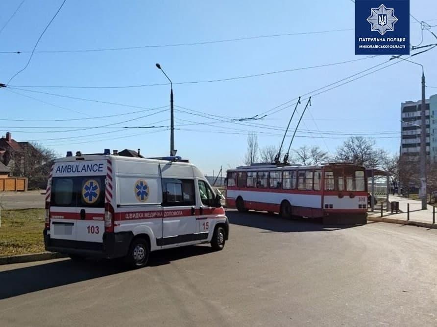 На место приехали медики и полиция / фото: facebook.com/mykolaivpolice