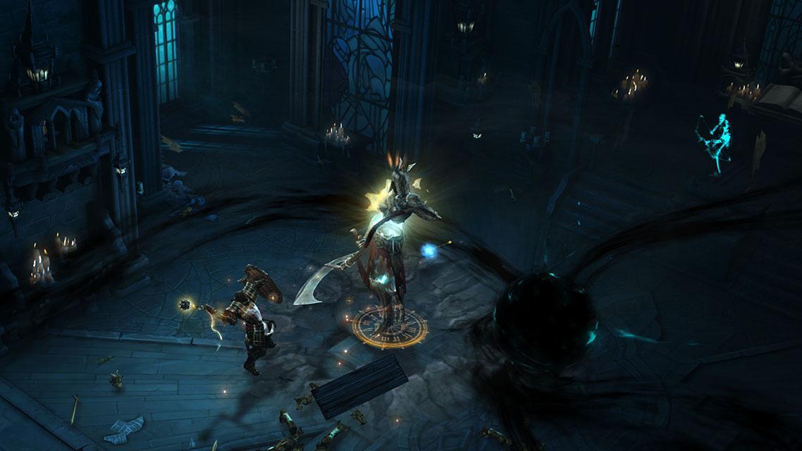 Diablo 3, несмотря на проблемный запуск, стала очень успешной игрой / скриншот