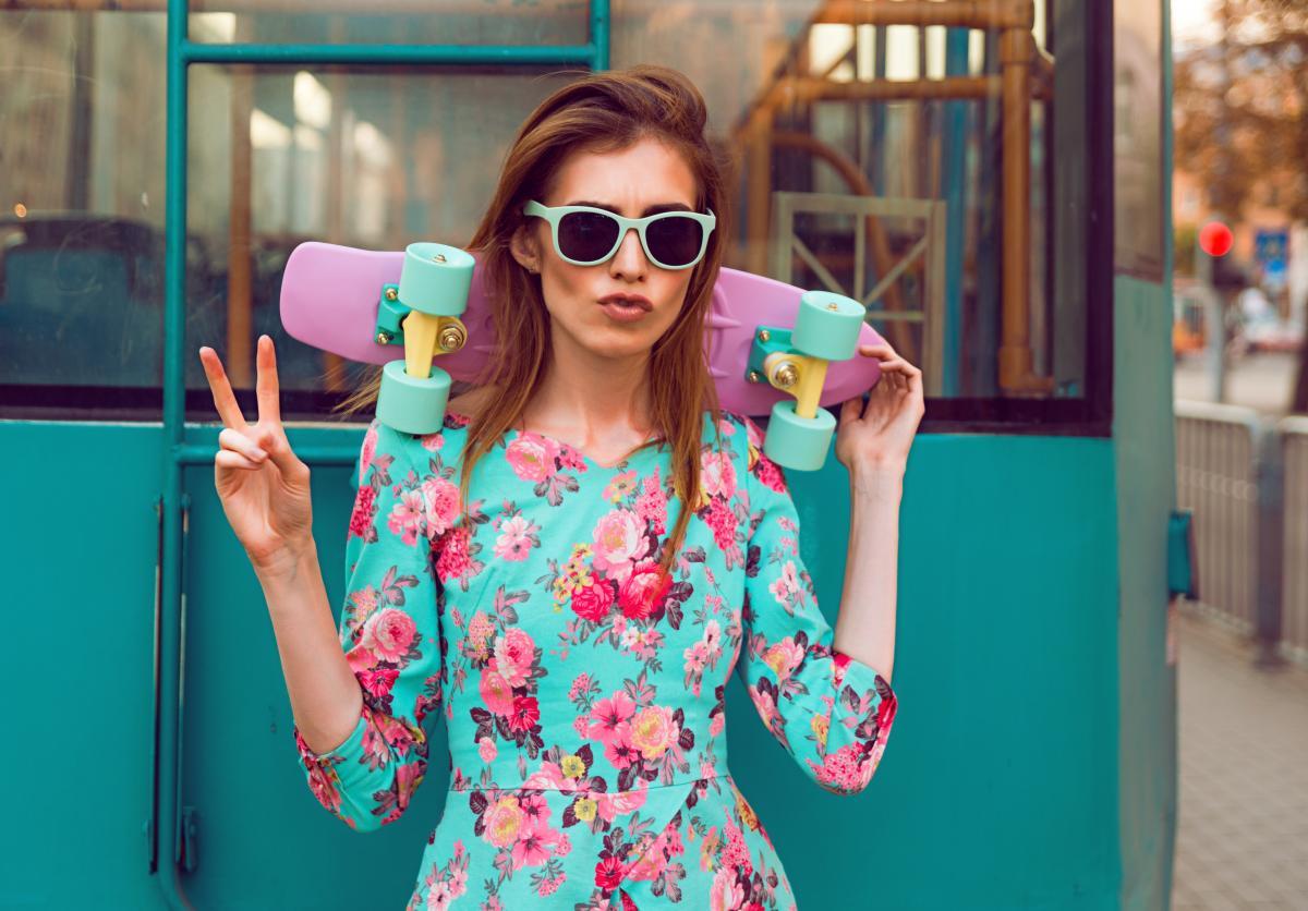 Цветочный принт в моде / ua.depositphotos.com