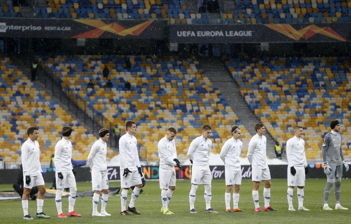 Динамо проведет первый матч на Олимпийском / фото REUTERS