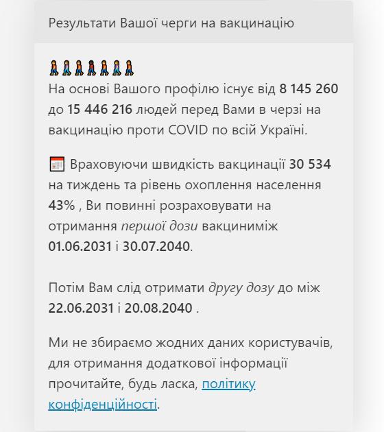 скріншот, omnicalculator.com