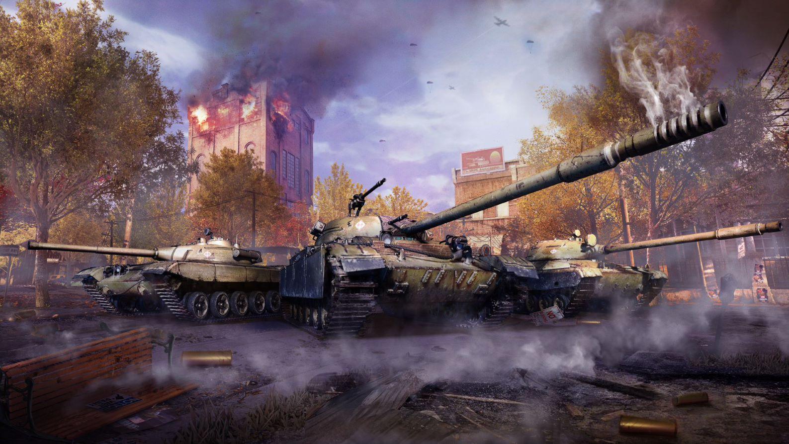 В консольной версии World of Tanks стартовал пятый сезон /фото wargaming.net