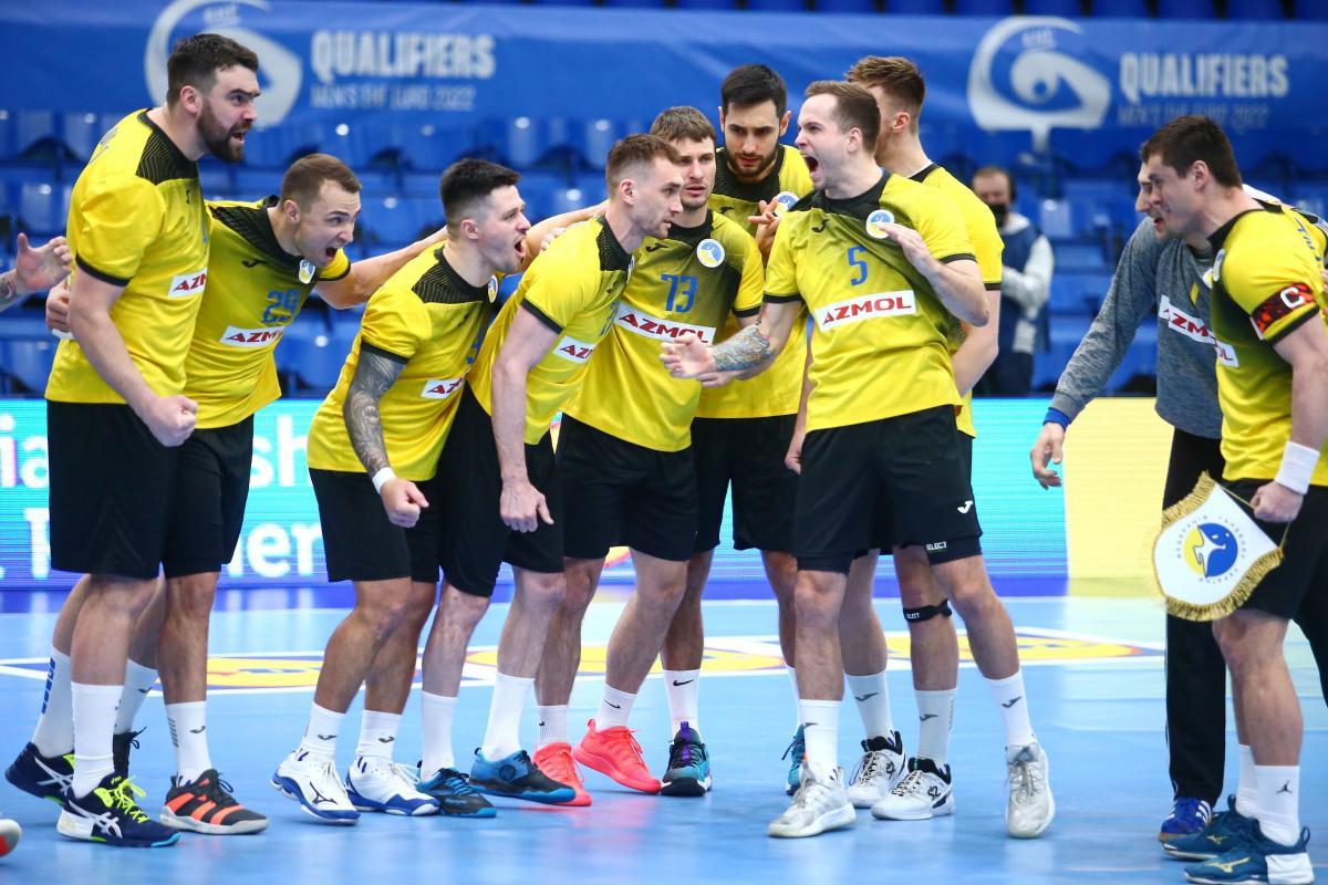 Игроки сборной Украины / фото handball.net.ua