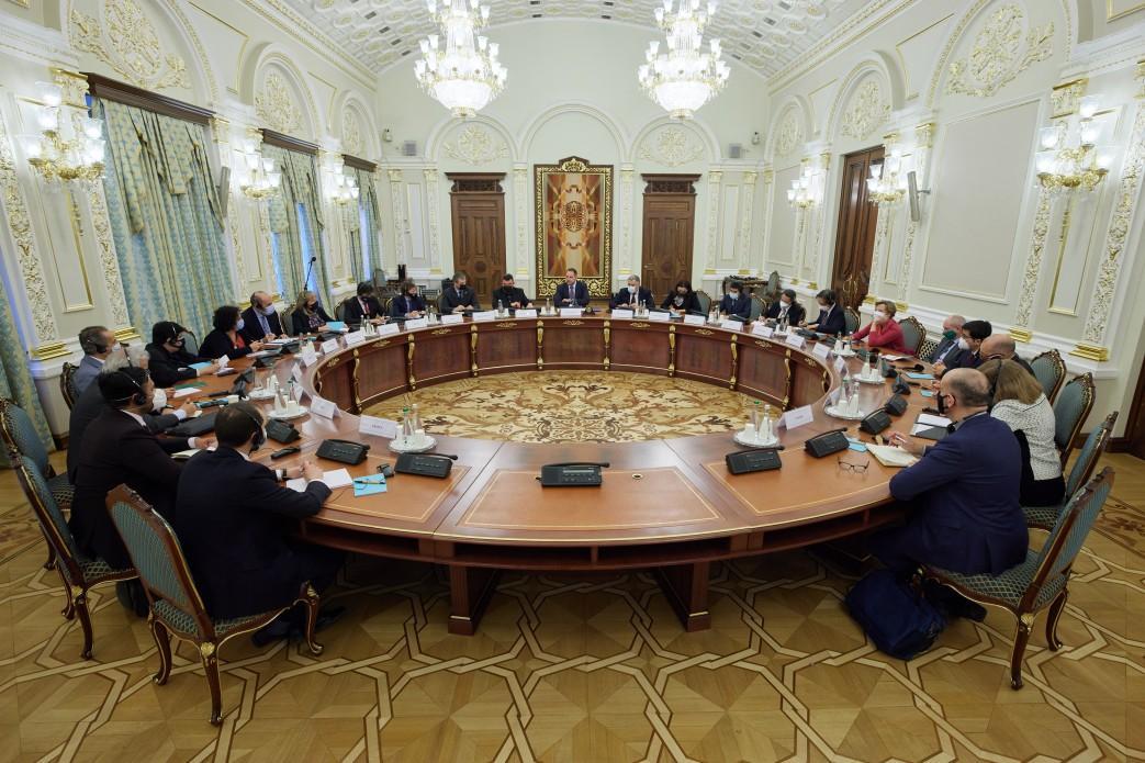 В ОП прошла встреча с послами G20 / фото president.gov.ua