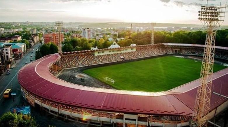 Тернопольский городской стадион имени Шухевича / фото Ternopilcity.gov.ua