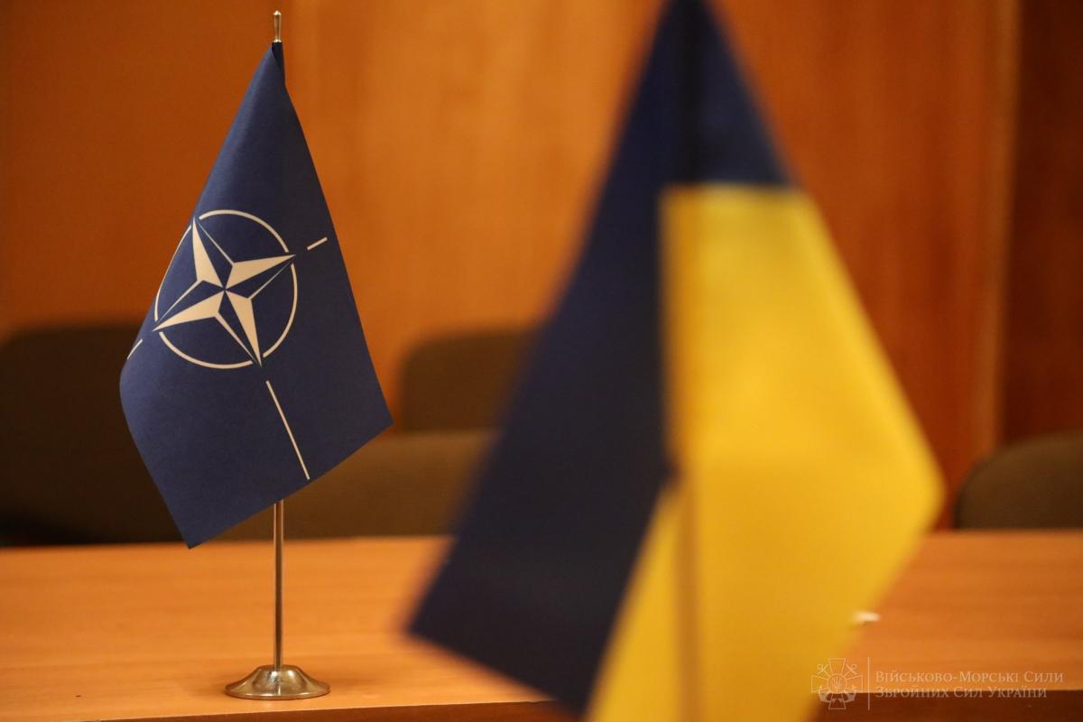 Крістіна Квін запевнила, що Україна стане членом НАТО /фото facebook.com/navy.mil.gov.ua