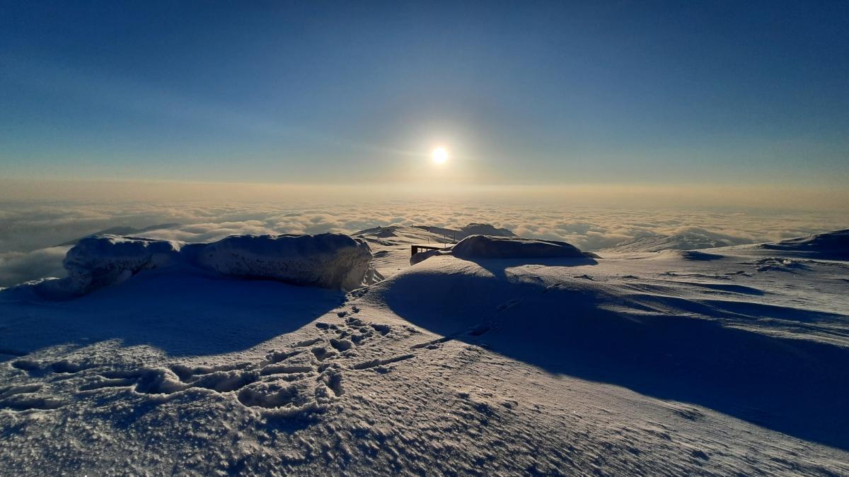 В горах сегодня замечательная погода / Фото facebook.com/chornogora.rescue112