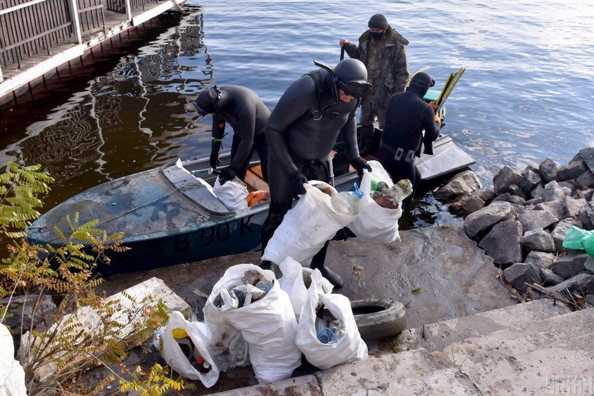 В Украине критическая ситуация с загрязнением рек / фото УНИАН (Александр Прилепа)