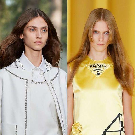 Модні стрижки 2021 на довге волосся / фото pinterest.com