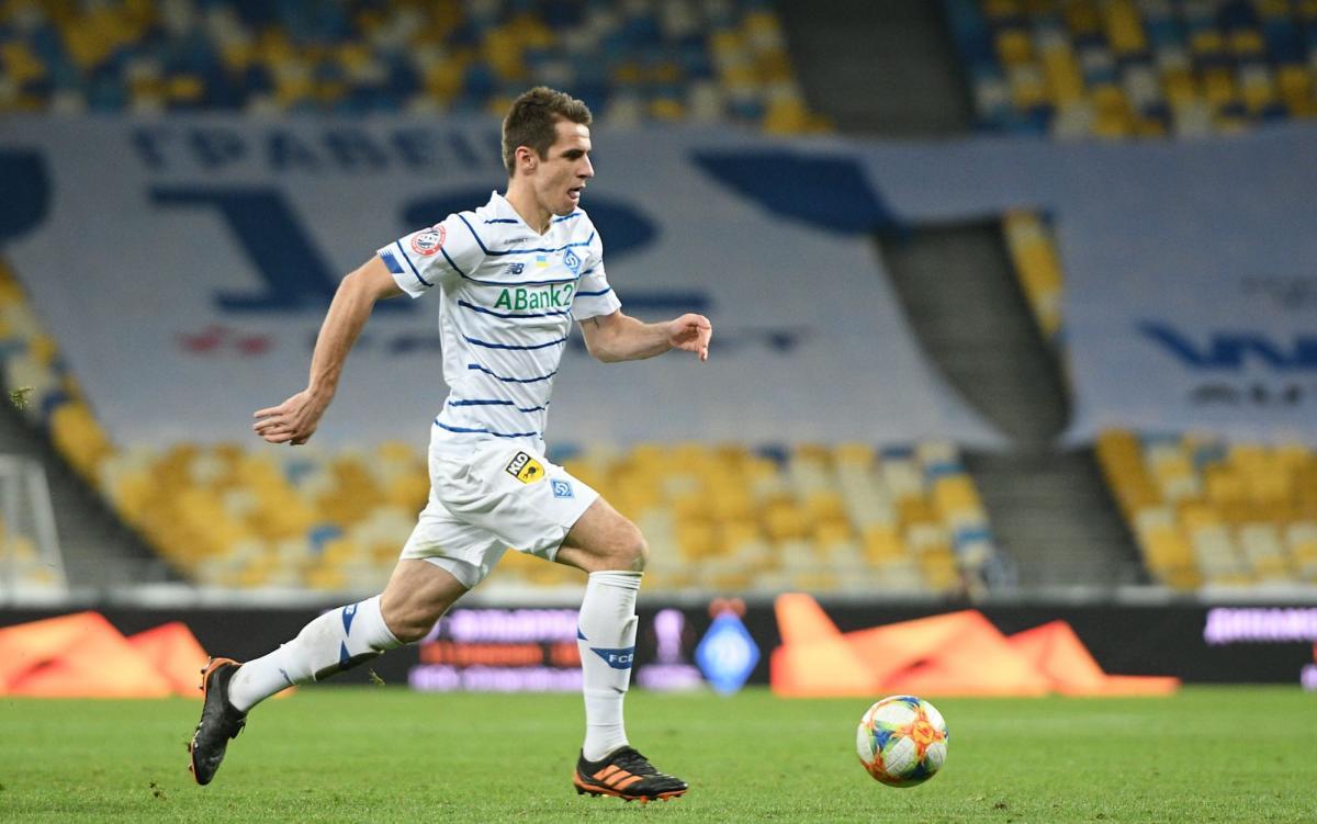 Артем Беседин играл на острие атаки Динамо / фото Динамо Киев