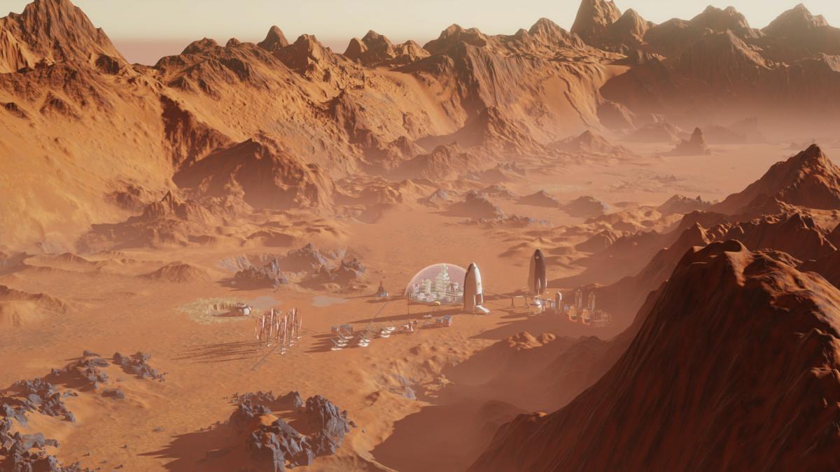 Surviving Mars можно забрать до 18 марта /фото Haemimont Games