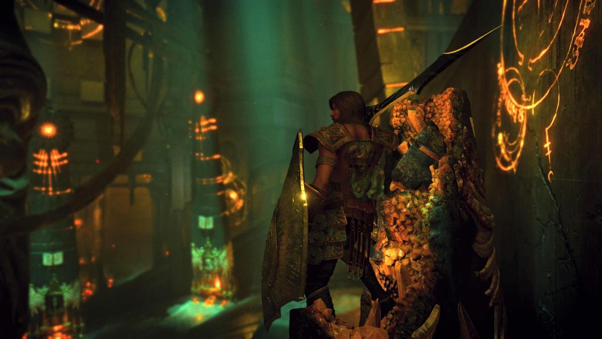 Стою на разрушенном шестом обелиске в Нексусе / скриншот