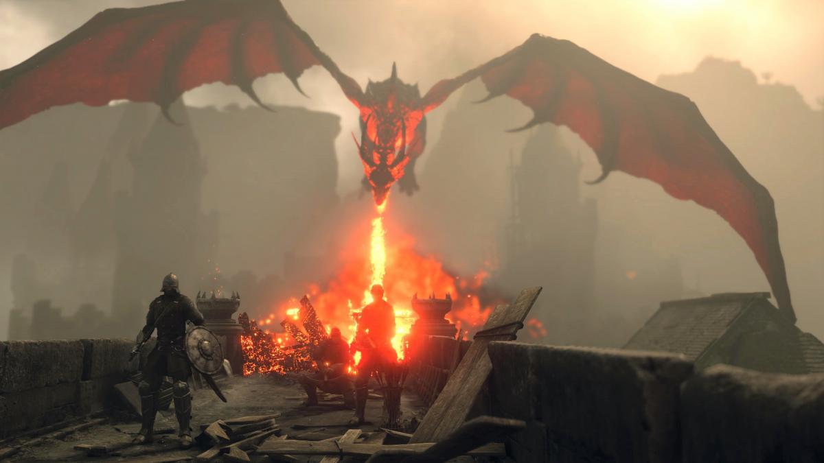 Рев дракона вы запомните надолго / скриншот