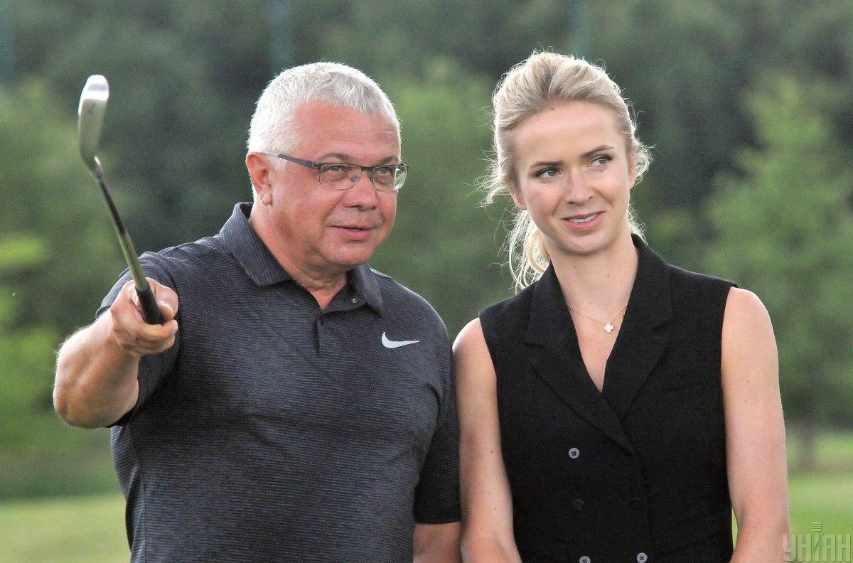 Юрий Сапронов и Элина Свитолина / фото УНИАН, Андрей Мариенко