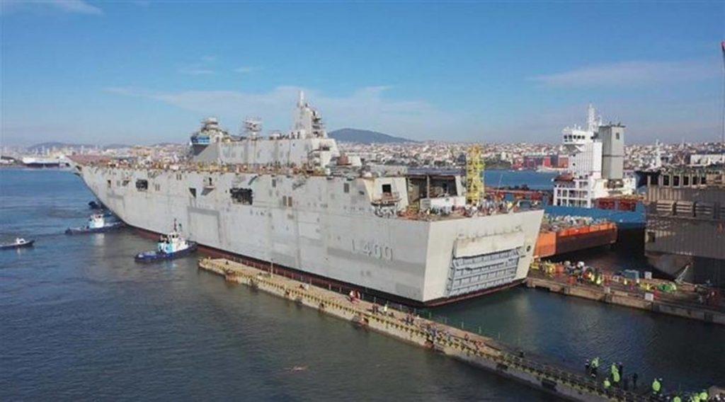 Корабль строится сфевраля 2018года, а вапреле 2019-го его спустили наводу / фото turksail.com