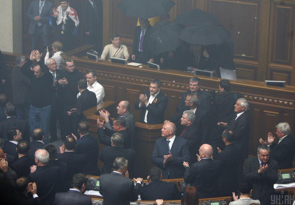 Ратификация Харьковских соглашений в 2010 году / Фото УНИАН