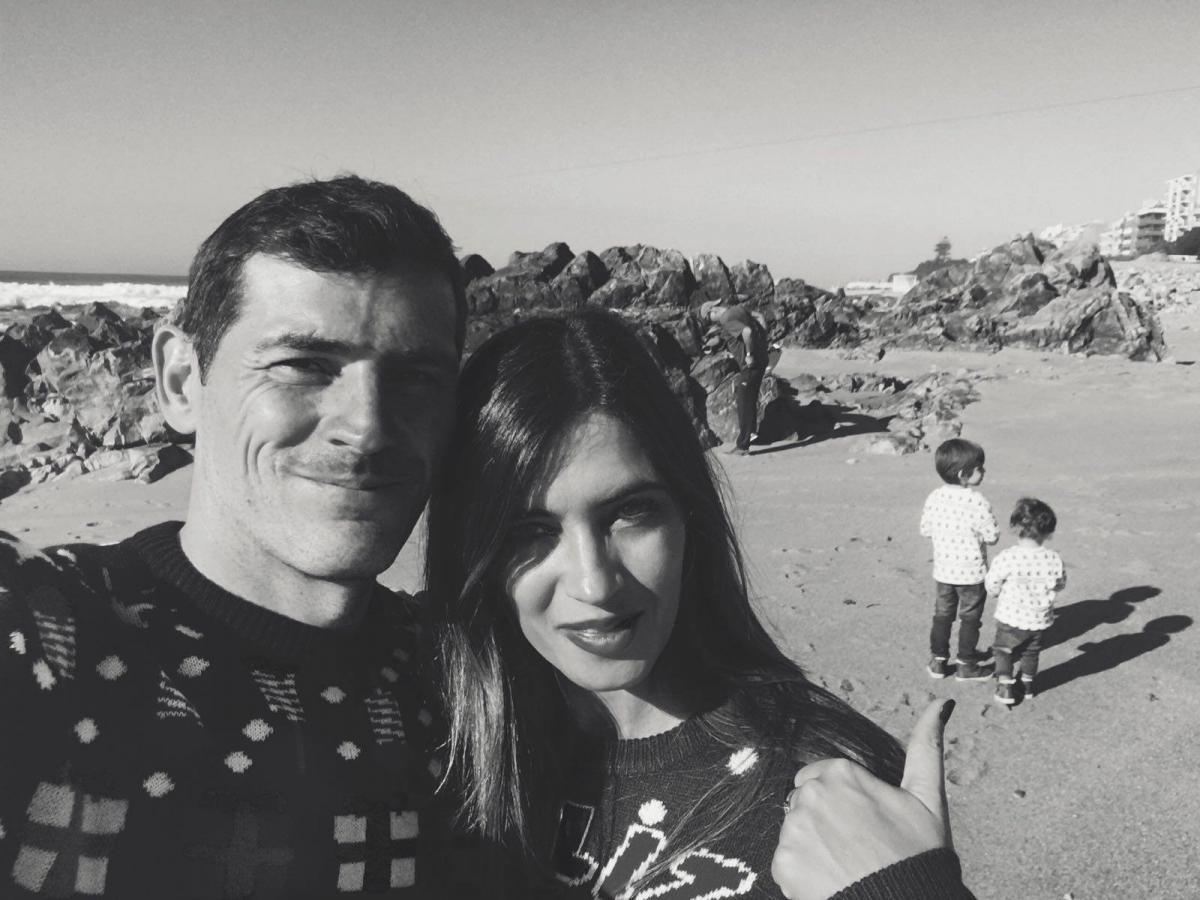 Икер Касильяс и Сара Карбонеро / фото facebook.SaraCarbonero