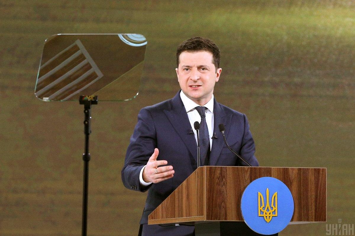 Зеленський подякував шведській стороні задопомогув реалізації реформ / фото УНІАН /  Ковальчук Віктор
