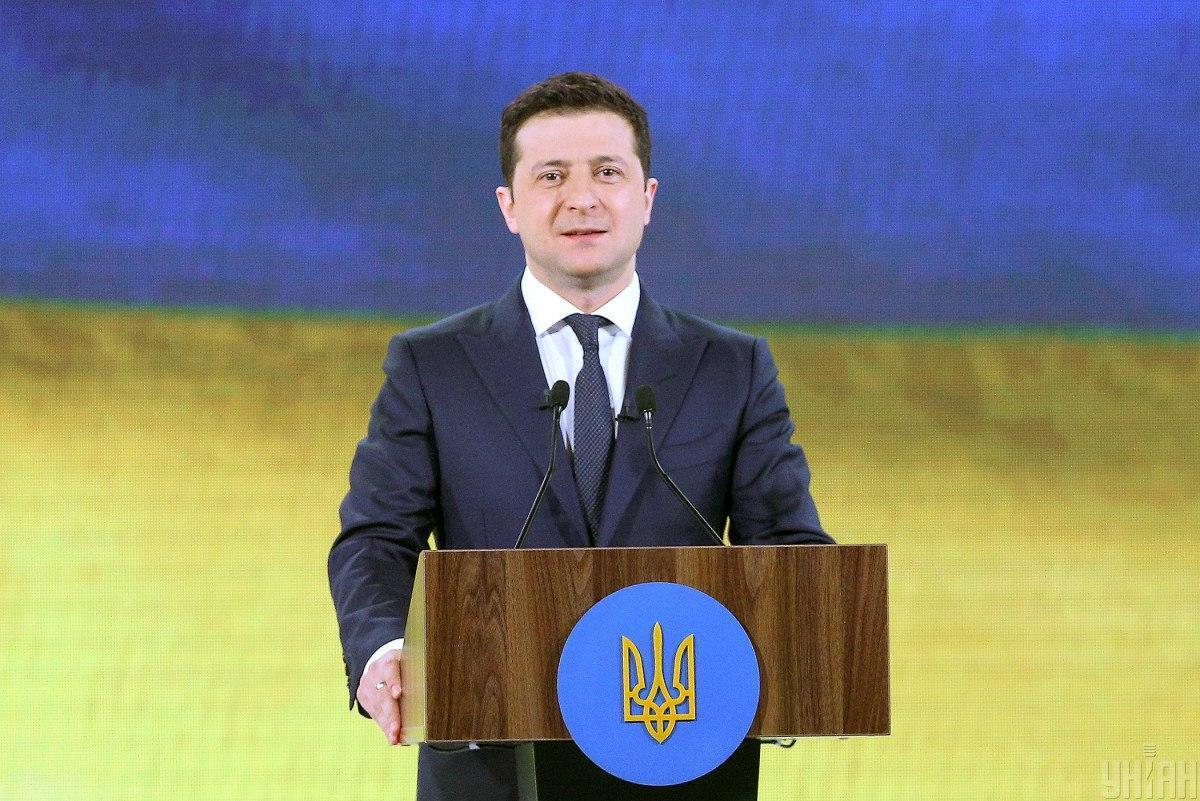 Ukrainian President Volodymyr Zelensky / Photo from UNIAN, by Viktor Kovalchuk