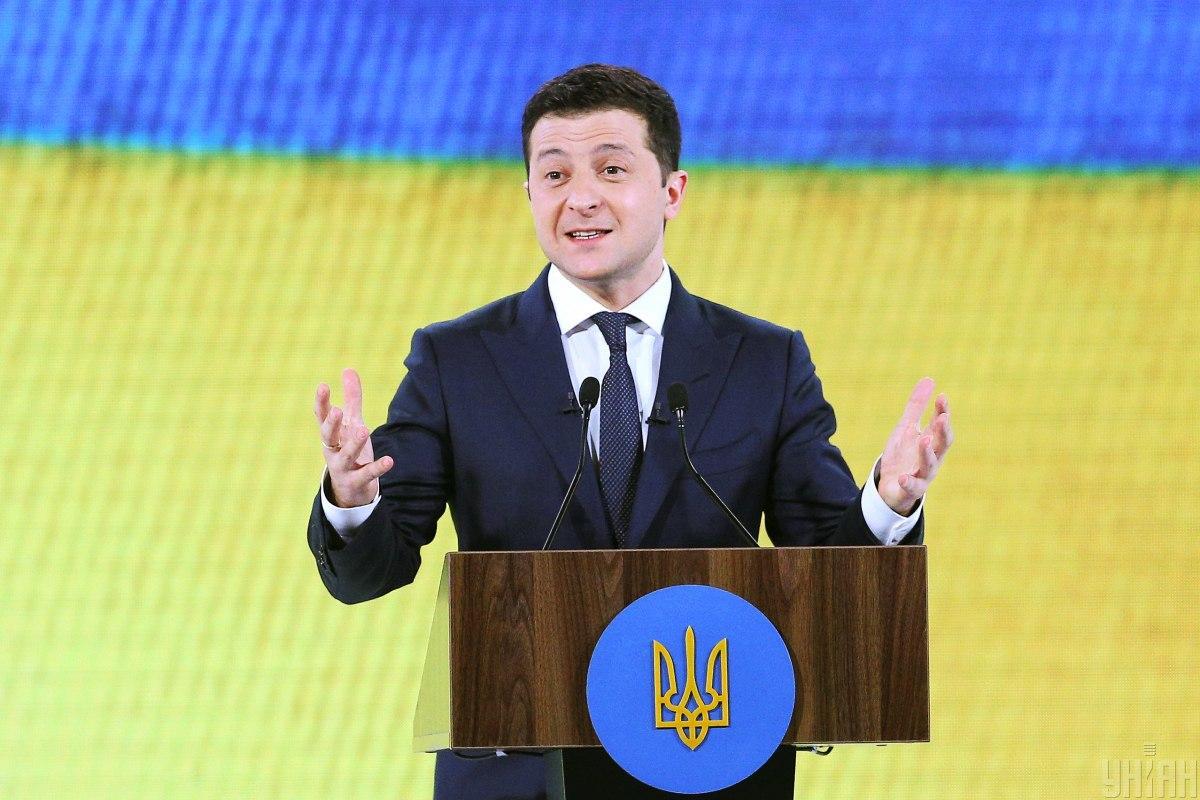 Зеленский возглавляет рейтинг электоральных симпатий / фото УНИАН /  Ковальчук Виктор